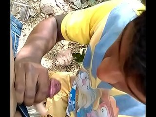Indian Gay boy sucking cock-1