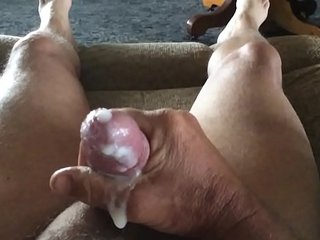 Cumshot in slow motion