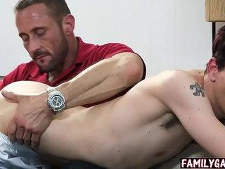 Gay son seduces his dad to get money