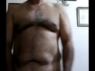 indian gay old daddy big cock jerking