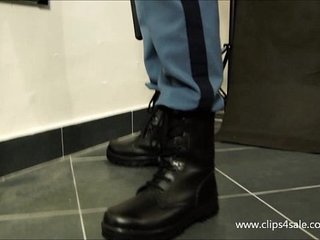DOMINANT COP ATTACKS WITH SPITTING -084