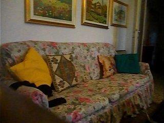 DSCN3501.AVI me,crossdresser,on sofa at my mother's in law diningroom