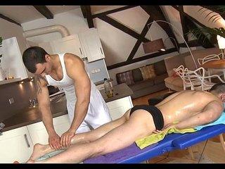 Homosexual carnal massage