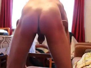 spank twink for precum