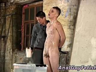 Young small cock blowjob movies gay Poor Leo can't escape as the