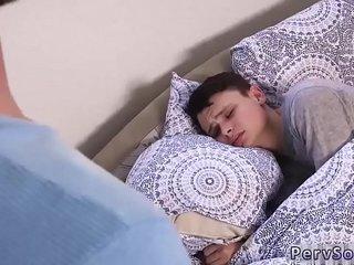 Gay big hard cock on boys Wake Up Sleepyhead