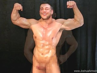 Curious Guy Explores Muscle Body