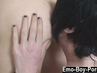 Emo gay sex Top model Josh Osbourne comebacks this week in a