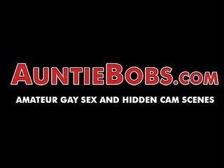 Homemade masturbation and balls worship gay sex tape