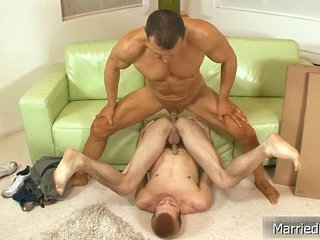 Married dude gets fucked hard and deep 5 By MarriedBF