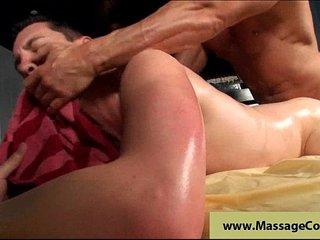 Deep anal massage