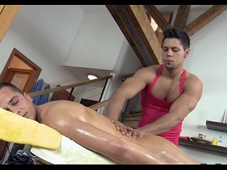 Rubbing that firm smooth body