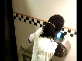 Dreadhead caught jacking BBC in stall