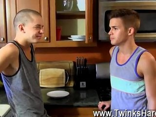 Twink movie Dominic works their anxious slots over with his tongue,
